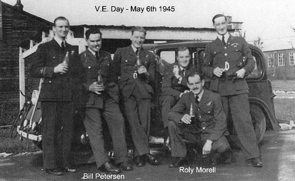 Bill Petersen - March/April 1945  - 102 Ceylon Squadron