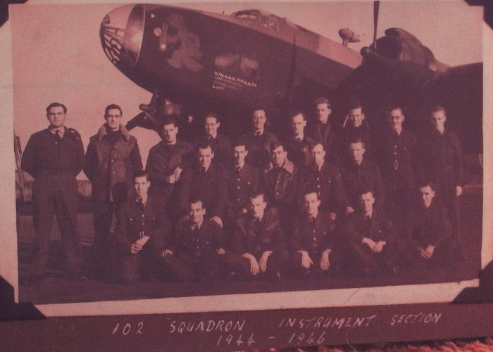 Instrument Section of 102 Squadron